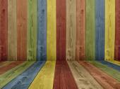 Abstract multicolored  wall — Stock Photo