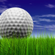 Golf ball at horizon — Stock Photo #69601391