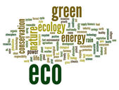 Ecology  word cloud — Stock Photo