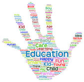 Education  word cloud — Stock Photo