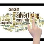 Advertising word cloud — Stock Photo #70374345