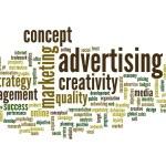 Advertising word cloud — Stock Photo #70374797