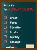 Business chalk text blackboard — Stock Photo