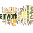 Teamwork word cloud — Stock Photo #70911111