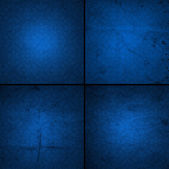 Blue old paper background — Stock Photo