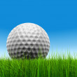 Golf ball at horizon — Stock Photo #71478919