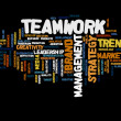 Teamwork  word cloud — Stock Photo #71479295