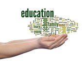 Education word cloud — Stock Photo