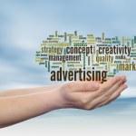 Advertising word cloud — Stock Photo #72609847