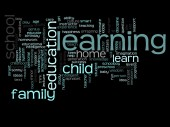 Family abstract word cloud — Stock Photo