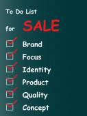 Sale chalk text — Stock Photo