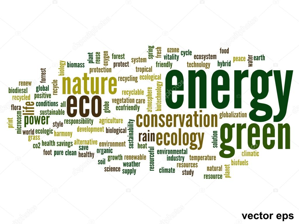Ecology words cloud — Stock Vector © design36 #88931744