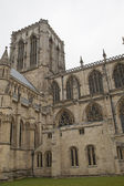 York Minster cathedral of York - stockphoto — Stock Photo