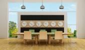 Modern boardroom — Stock Photo