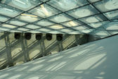 Abstract roof of modern building — Stock Photo