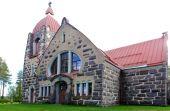 Old stone church — Stock fotografie
