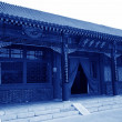 Ancient Chinese traditional architectural style — Stock Photo #65282409
