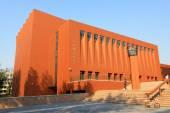 Beijing tsinghua university campus architecture and landscape, c — Stock Photo
