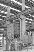 钢铁企业的生产车间 — 图库照片