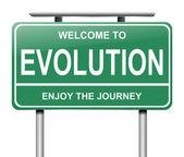 Evolution concept. — Stock Photo