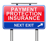 Payment protection insurance concept. — Stock Photo