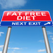 Fat free diet concept. — Stock Photo #54485289