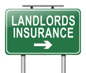 Landlords insurance concept. — Stock Photo