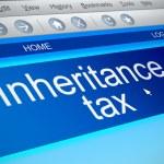 Inheritance tax concept. — Stock Photo #54801039