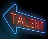 Talent concept. — Stock Photo