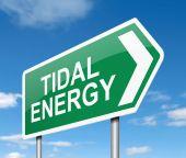 Tidal energy concept. — Foto de Stock