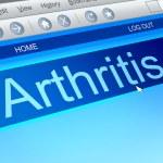 Arthritis concept. — Stock Photo #57984627