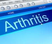 Arthritis concept. — Stock Photo