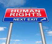 Human rights concept. — Stock Photo