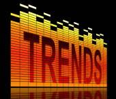 Trends concept. — Stock Photo