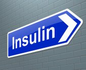 Insulin cocnept. — Foto Stock
