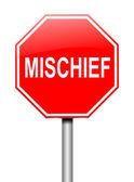 Mischief concept. — Stock Photo