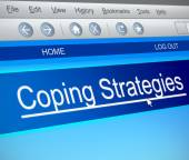Coping strategies concept. — Stock Photo