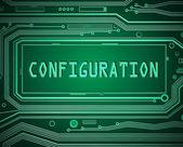 Configuration concept. — Stock Photo