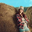 Country girl — Stock Photo #57678649