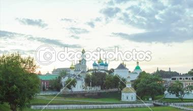 Trinity St. Sergy Monastery — Stock Video