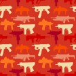 Seamless pattern woth weapons — Stock Vector #64667745
