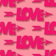 Seamless love pattern — Stockvector  #65617431