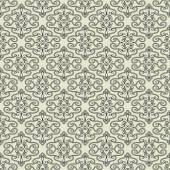 Seamless vintage pattern with ornament — Stock Vector