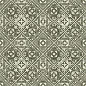 Seamless vintage pattern with ornament — Stockvektor