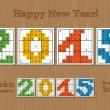 Sudoku set 2015 — Stock Vector #59084865