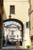 Glimpse of downtown Mantua, Italy — Stock Photo