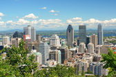 Montreal skyline — Stock Photo