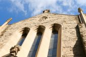 Ascension of our Lord church in Montreal — Stock Photo