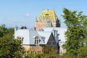 Roofs of Quebec City in Canada — ストック写真