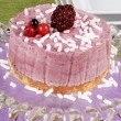 Wild berries bavarian cream (bavarese) — Stock Photo #57359451